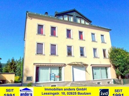 Moderne Gewerbe-/ Büroeinheit - Ladenlokal mit PKW-Stellplätzen, an gut befahrener Straße - ca. 4 km südlich von Bautzen