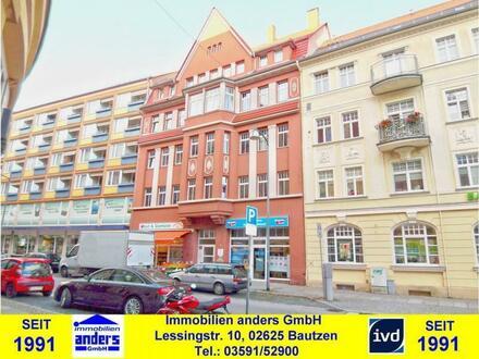 Moderne 4-Raum-Wohnung mit Erker - Bad mit Wanne und Dusche - EBK (VB) in Bautzen