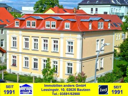 Moderne 3-Raum-Dachgeschoss-Wohnung im Villenviertel von Bautzen