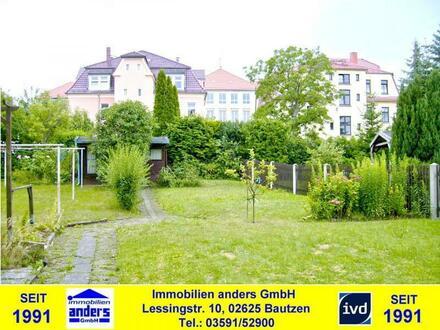 Moderne 3-Raum-Wohnung mit EBK und gem. Wiesengrunstück in Bautzen