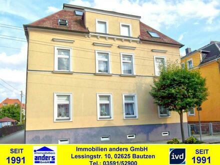 Moderne 3-Raum-DG-Wohnung mit PKW-Stellplatz - Bad mit Wanne und Dusche in Bautzen