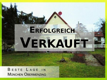 Baugrundstück m. Altbestand in München Obermenzing