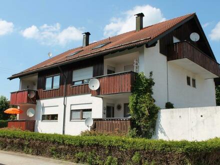 3-Zimmer-Wohnung mit zusätzlichen Kachelofen, Loggia und Festgarage in Salzweg