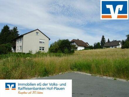 Bauen in Rehau, verkehrsberuhigt und Südlage