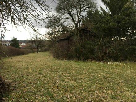 Grundstück mit Ausblick im Wochenendhausgebiet
