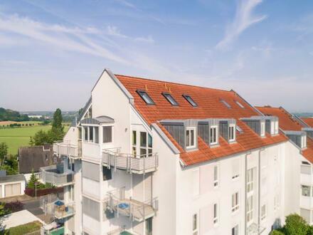 Maisonette-Wohnung mit Blick über Kitzingen