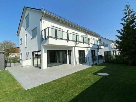 Neubau-DHH mit exklusiver Ausstattung und viel Platz - S-Bahn-Nähe Heimstetten