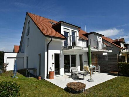 Ansprechende + neuwertige Doppelhaushälfte in ruhiger, seehnaher Lage von Langenargen (Bodensee)