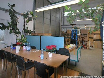 Attraktives Gewerbeobjekt mit Halle, Büros und Wohnungen auf großem Grundstück