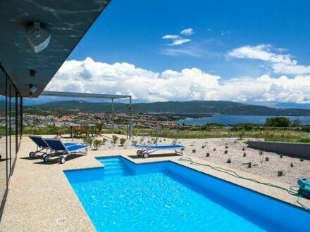 Designer-Villa in Naturidylle mit Panoramablick