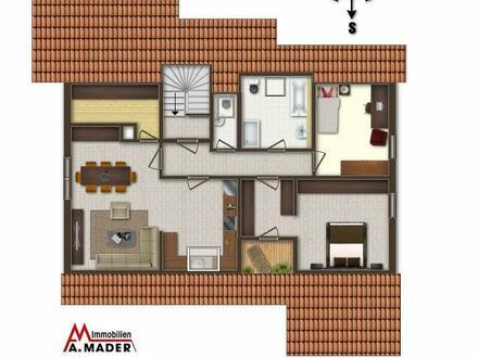 Dachgeschoß- Erstbezug nach Sanierung- tolle Wohnung mit kleiner Loggia