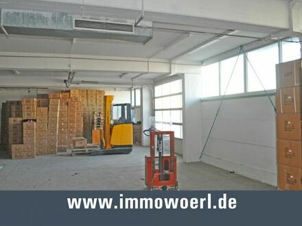 Halle 600 m², ebenerdige Andienung