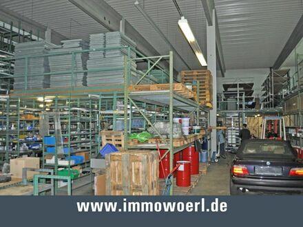 Gersthofen Halle mit Büro / Ausstellung in Toplage