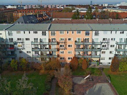 Gut vermietete und sanierte 2 Zimmer Etagenwohnung in München- Laim