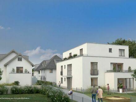 1 Zimmerwohnung mit Gartenanteil in Germering . Neubau