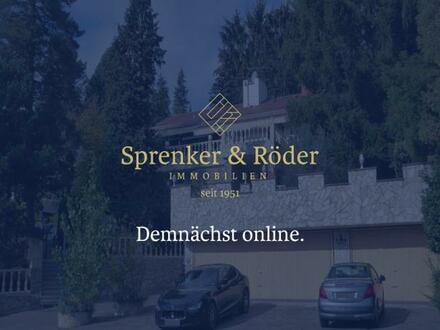 SPRENKER & RÖDER IMMOBILIEN | DEMNÄCHST ONLINE: Villa mit Stellplätzen
