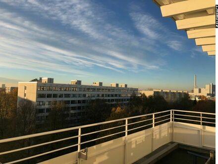 Helligkeit und Ausblick! Penthouse über 2 Etagen
