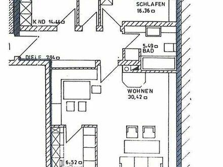 Schöne 3-Zimmer-Wohnung in ruhiger Lage