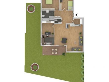 Großzügige 4-Zimmerwohnung mit Gartenanteil! [1]