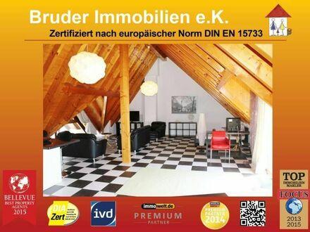 Walldorf: riesiges 85qm 1-Zimmer-Dachgeschoss, über den Dächern von Walldorf