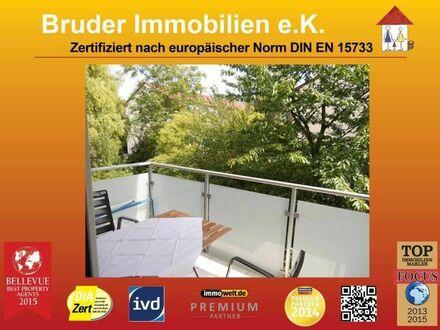 Heidelberg-Neuenhm: Nähe Krebsklinik: 3 Zimmer, voll möbliert, 3 Balkone, 300 m Uni u. Neckar, 1.OG