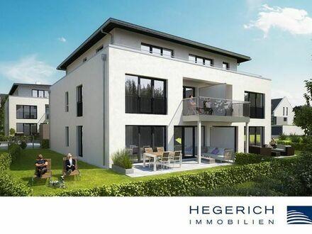 HEGERICH: Zum Erstbezug! 3,5-Zimmer-Wohnung mit wunderschöner Terrasse! Fürth-Dambach!