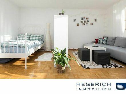 HEGERICH: Großzügige 2-Zimmerwohnung mit Blick ins Grüne