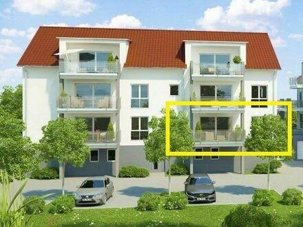 Anspruchvolles Wohnen in begehrter Lage: 3,5 Zi. Neubau-EG-ETW in Ellw.- Rotenbach