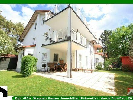 Luxuriöse, helle 3-Zi-Maisonette-Whg.+2 Hobbyräume+großer SW-Garten