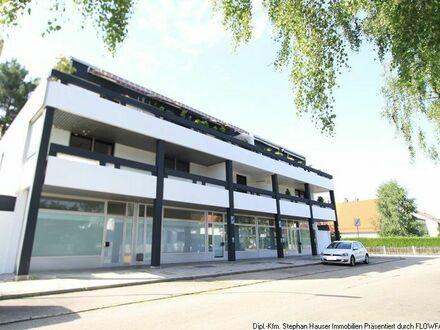 Germering: Sonniges, schnuckeliges 1-Zimmer-Appartement + Südloggia + Duschbad + weiße Küchenzeile