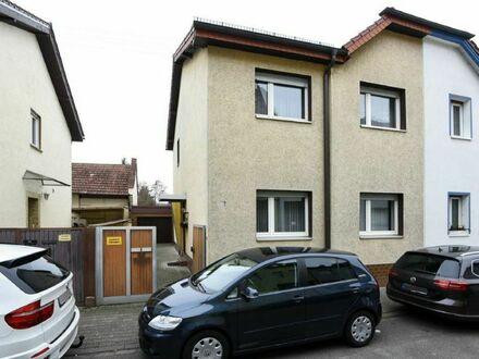 Top-Lage von Mannheim-Seckenheim Individuelle Doppelhaushälfte mit Anbau