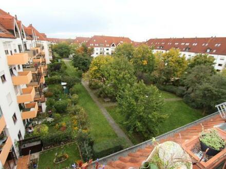 Vermietete 3 1/2 Zimmer-Wohnung mit Galerie in Augsburg-Univiertel