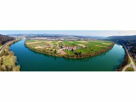 REMAX - Wassergrundstück mit Bauernhaus am Hochrhein - exklusive Lage