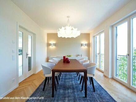 Hier blüht das Leben auf 90 m²! Moderne, citynahe 2-Zi.-Balkonwohnung mit offener Küche und Gäste-WC