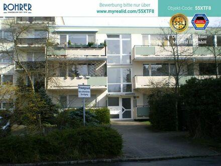 Ismaning - 1-Zimmerwohnung, Küche mit Einbauküche, Flur, Bad/WC, Balkon, Kellerabteil
