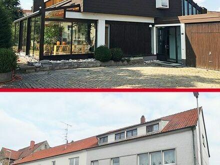 Architektenhaus mit angrenzenden WGH
