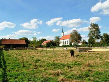 Großes Grundstück in herrlicher ländlicher Lage - hier können Sie sich selbst verwirklichen!