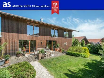 MODERN.STILVOLL.GROSSZÜGIG.- Architektenvilla mit Bergblick in herrlich ländlicher Umgebung