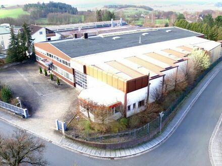 Flexibel nutzbare Gewerbeimmobilie in repräsentativer Lage von Kulmbach - 360°-Grad Rundgang online