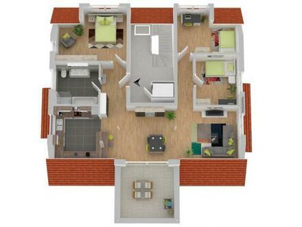 super 4 Zi.- DG-Wohnung; Neubauprojekt Mössingen