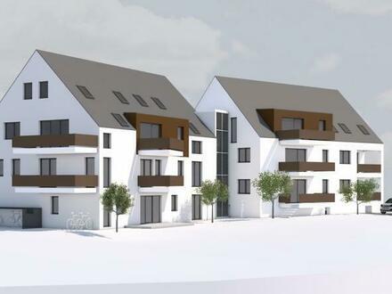 4 Zi.-OG-Stadt-Wohnung in Mössingen; Neubauprojekt; ruhige Lage