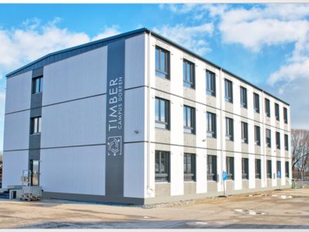 Timber Campus - Ihr modulares Büro in Holz im Osten von München an der A94 und an der Bahn+++