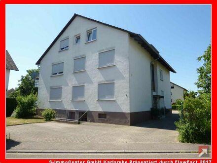 Gemütliche 2-Zi.-Eigentumswohnung in beliebter Lage in Ettlingen-Bruchhausen