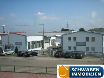 Produktionshallen mit Büro- und Sozialtrakt in guter Lage von Niederstotzingen zu vermieten! 
