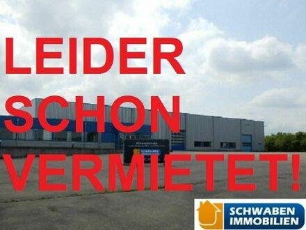 Halle/Lager/Produktion in Langenau zu vermieten - in 2 Minuten auf der A7, in 5 Minuten auf der A8!