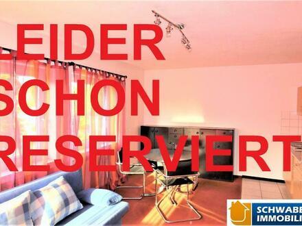 1-Zimmer-Apartment mit PKW-Stellplatz in zentraler Lage von Langenau zu verkaufen! 
