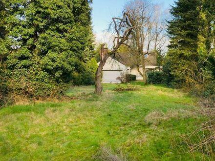 Traumhaftes Grundstück in grüner und ruhiger Lage von Rahlstedt für ein Einzel- oder ein Doppelhaus
