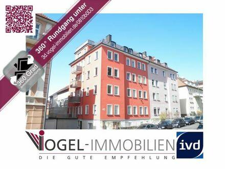 • • • Schöne und helle Wohnung - Sanderau | Festungsblick vom Balkon | Virtueller Rundgang verfügbar! • • •