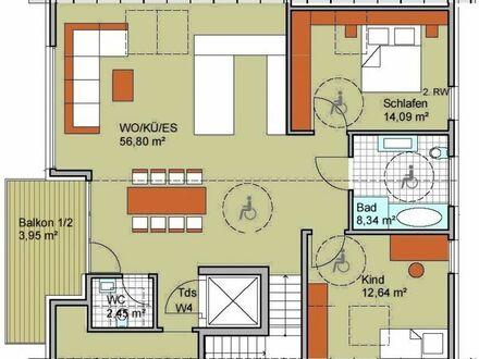3-Zimmer-Dachgeschoss-Wohnung, projektiert, Heilbronn-Kirchhausen