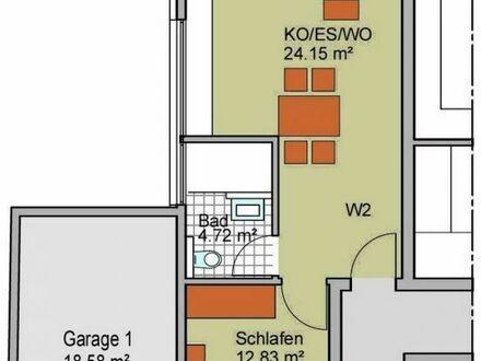 2-Zimmer-Erdgeschoss-Wohnung, projektiert, Heilbronn-Kirchhausen